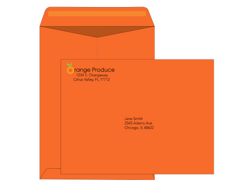 Custom 9x12 Colored Envelopes - Catalog - EN1098