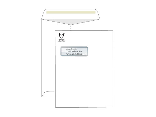 Custom 9x12 Window Envelopes - Catalog - EN1106