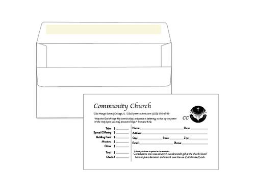 Self Seal Business Envelopes - #6 3/4 Payment Envelopes - EN1110