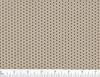 Beige 14% open perforated vinyl