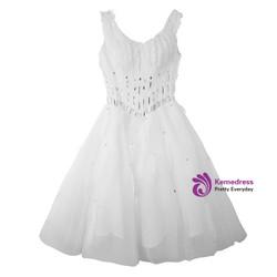 8ceb59099 ... Wedding dress short dress evening dress feather ornaments toast