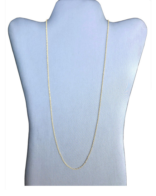 1.75 mm Gold Plated Diamond-Cut Cable Chain (680G)