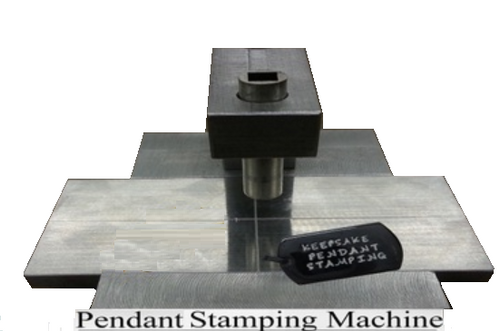 Pendant Stamping Jig With Accessories