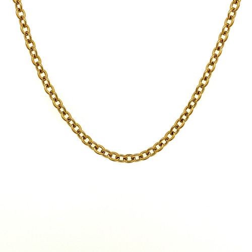 2mm Gold Stainless Steel Chain
