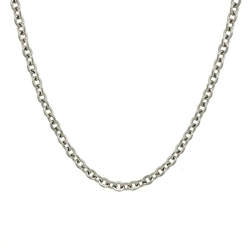 2mm Silver Stainless Steel Chain