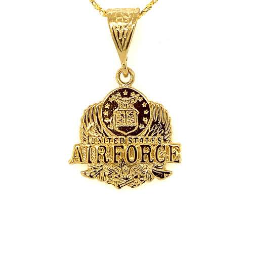 Military Medallion Charm-AIR FORCE