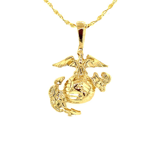 Military Marine Charm- Eagle, Globe and Anchor