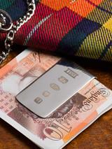 Hallmarked Silver Money Clip