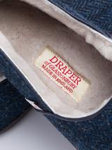 Draper Harris Tweed Sheepskin Slippers