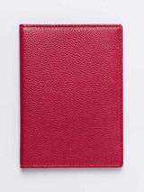 Pebble Grain Leather Passport Wallet