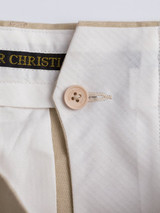 French Bearer Fly on Natural Linen Suit