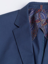 Navy Cotton Flex Suit