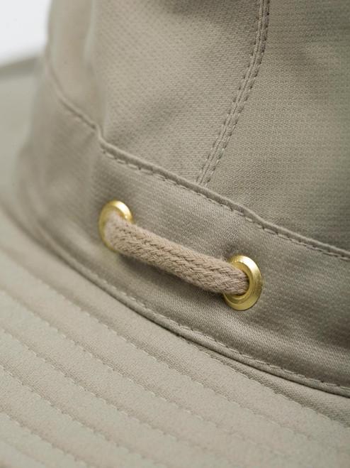Close Up of Mens Tilley Hats Fabric
