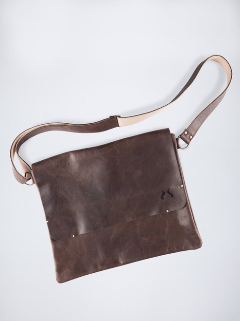 Handmade Leather Despatch Bag