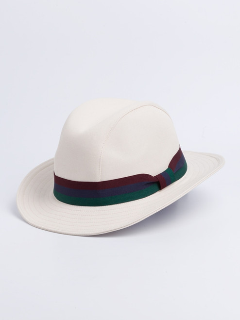 Henley Canvas Fedora Hat