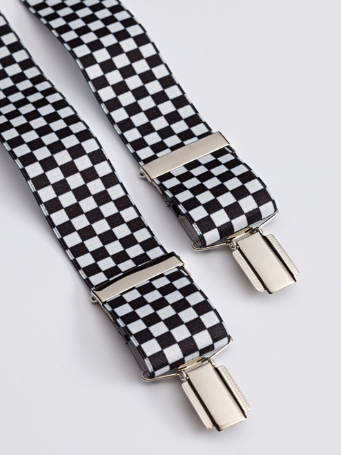 Chequered Suspenders