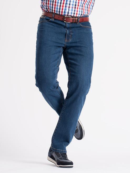Navy Blue Lightweight Flex Denim Jeans
