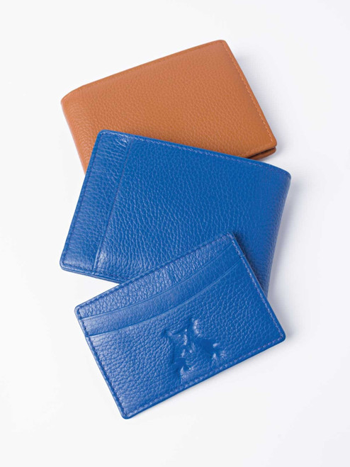 Pebble Grain Leather Bifold Wallet