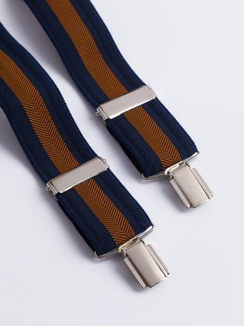 Navy/Bronze