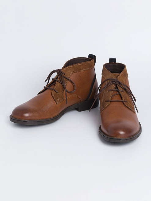 Geox Jaylon Leather Boots