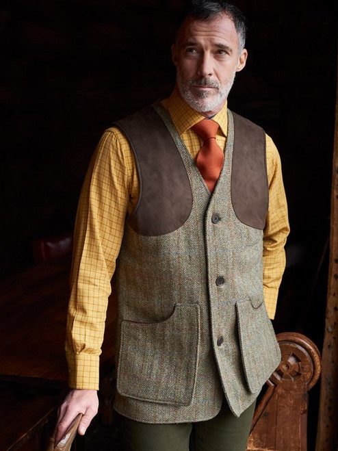 Harris Tweed Country Vest