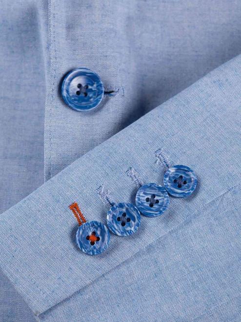 Sky Blue Summer Suit