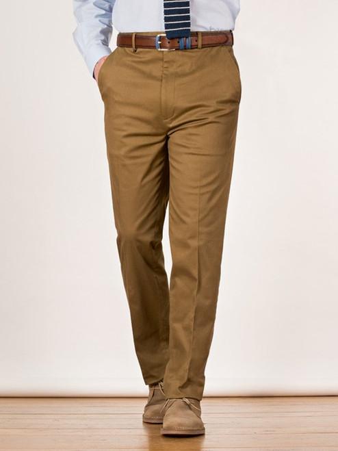 Tan Cotton Flex Suit