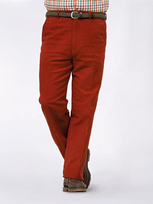 Image of Mens Fox Red Moleskin Pants