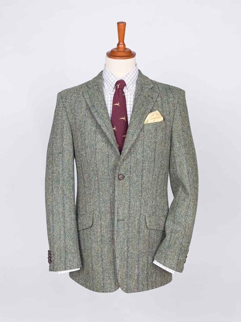 Image of Mens Lovat Harris Tweed Jacket