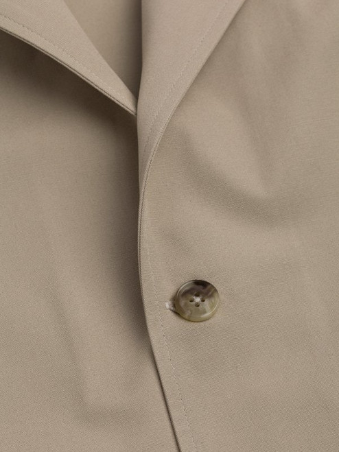 Button detail of The Shacket in Stone