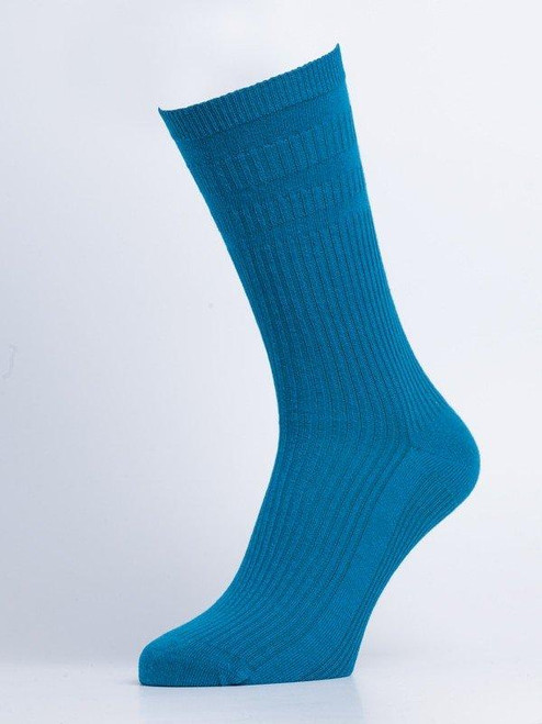 Aqua HJ Softop® Cotton Socks