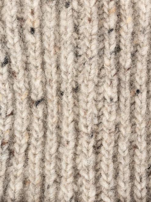 Stone Wool Beanie Hat