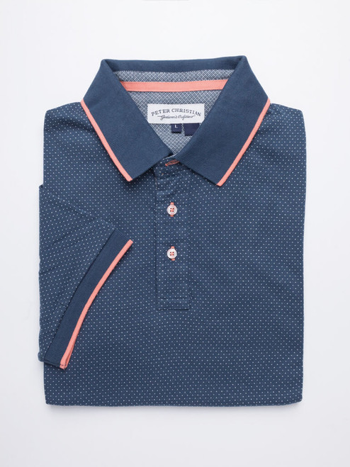 Image of Blue Dot Original Polo Shirt