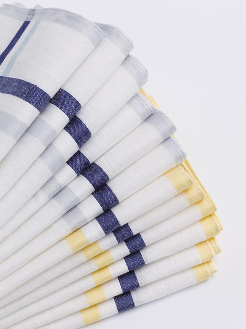 12 Pack White Cotton Hanks