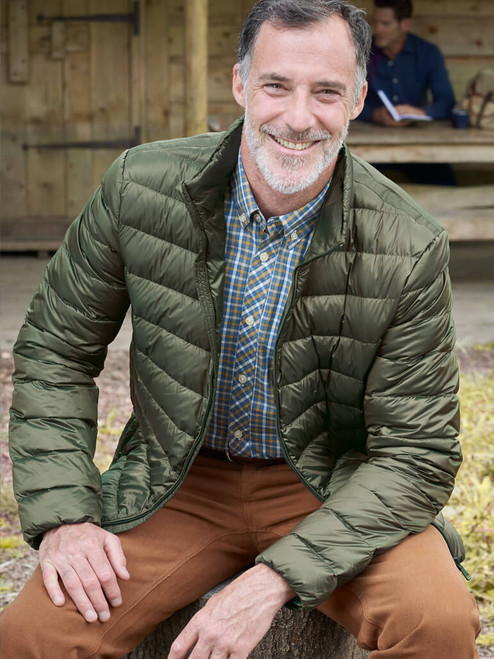 Green Geox Down Jacket