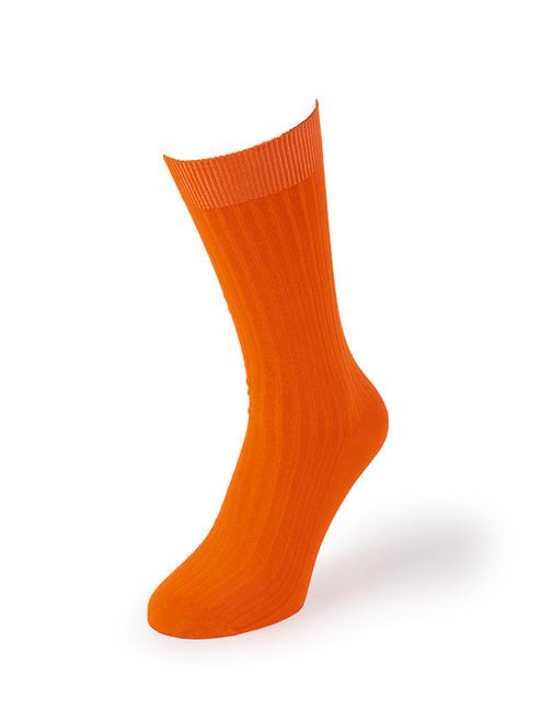 Orange Luxury Bamboo Socks