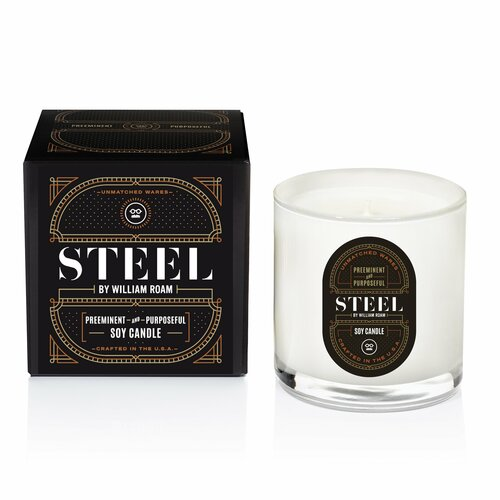 STEEL by William ROAM - Candle