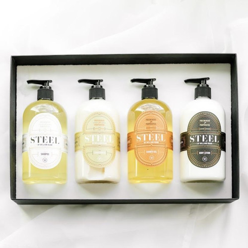 STEEL by William ROAM - Hair & Body Collection Gift Set