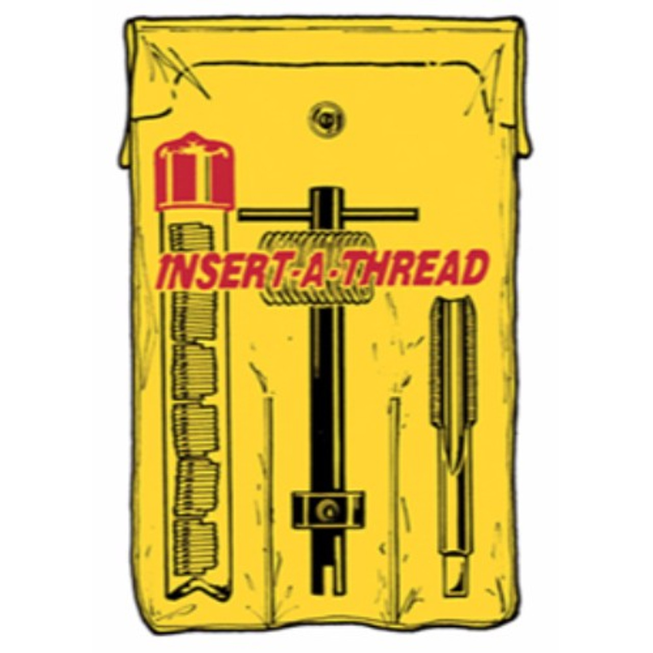 Alfa Tools ST66547 3//4-16 HSS Screw Thread Insert Taps