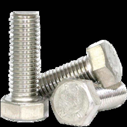 M24-3.00x50 MM DIN 933 HEX CAP SCREWS COARSE STAIN A2, Qty 10