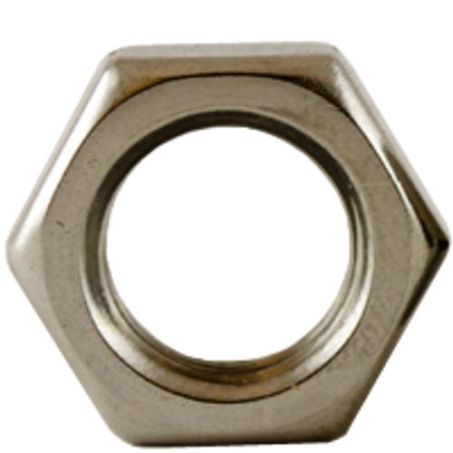 """1 1/4""""-7 HEX NUTS JAM STAIN A2 (18-8), Qty 25"""