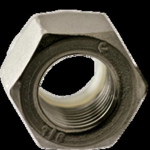 #6-32 NTM (THIN) NYLON INSERT NYLON INSERT LOCKNUTS COARSE STAIN 316, Qty 100
