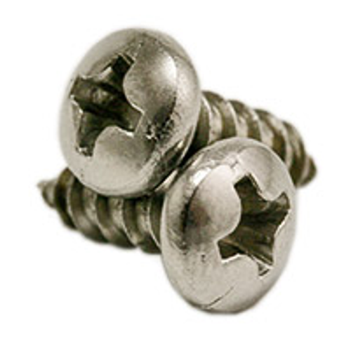 """#14x1 1/2"""",(FT) SELF-TAPPING SCREWS PHILLIPS PAN HEAD, TYPE A STAINLESS 316, Qty 500"""