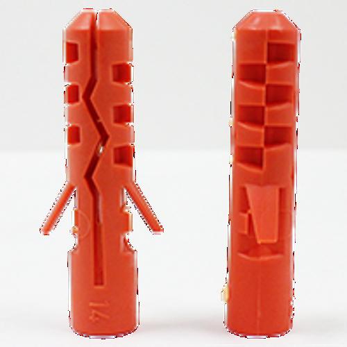 MN M8x40 MM Mungo Nylon Plug, Qty 100