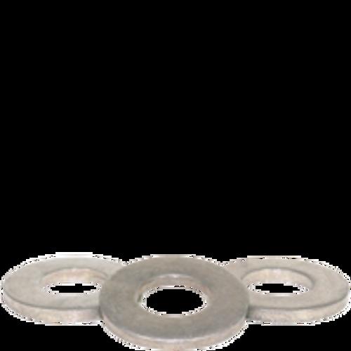 "1/4""  SAE FLAT WASHERS MED. CARBON THRU-HARDENED ZINC CR+3(USA), Qty 100"