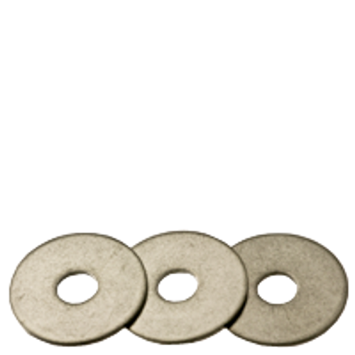 """1/4""""x1""""x0.05  FENDER WASHERS STAINLESS 304, Qty 100"""