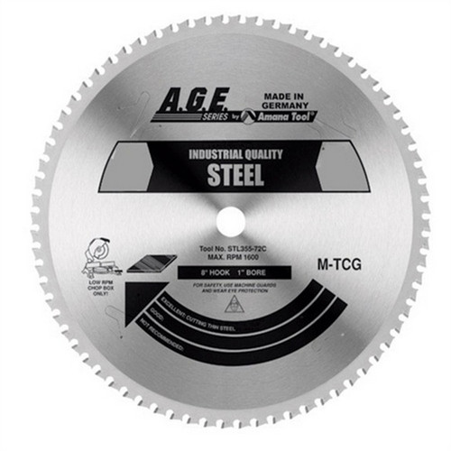 Amana STL210-30 Alloy / Steel Blade for Festool TS 75