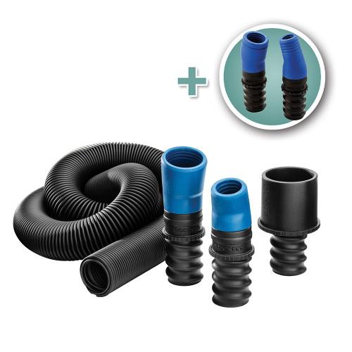 FlexiPort Power Tool Hose Kit - 3' to 12' Expandable