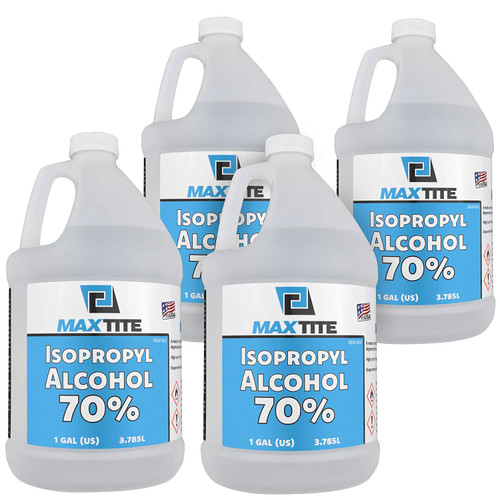 1 Gal 70% Isopropyl Alcohol 4 PK