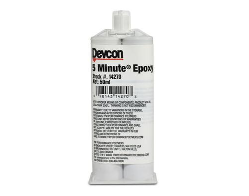 50 ML Cartridge 5 Min Epoxy - 2 Parts